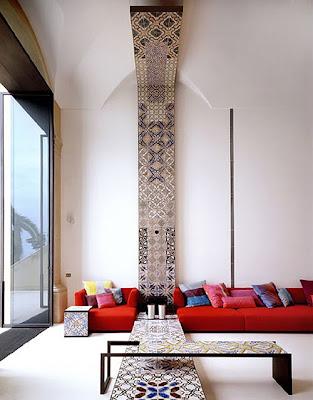 moderb villa design concept