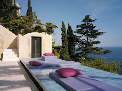 Modern italian villa design