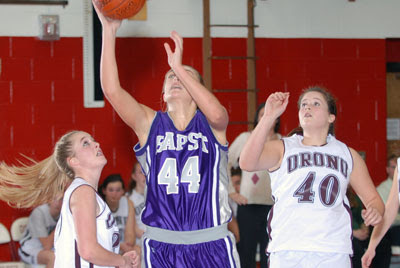 Laferriere leads Bapst to 43-37 win over Red Riots