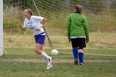 Sinclair, Willard lead Crusaders to 7-1 soccer win over Hermon