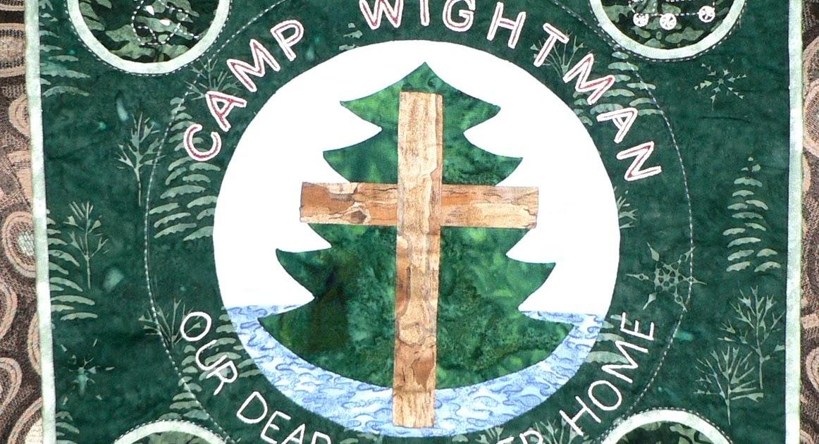 Applique on the go applique retreat camp wightman