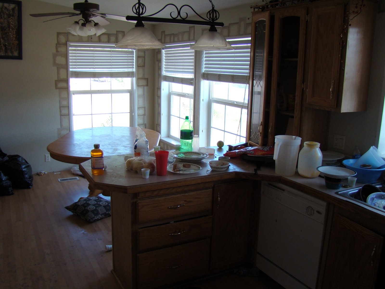 Maggots On Kitchen Floor The Steinmetz Family Blog Before And After Landlord Horror Story