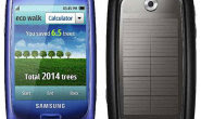 Samsung BlueEarth Solar Phone