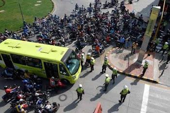 Protesta Pico & Placa