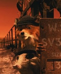 Mr Fox and Badger