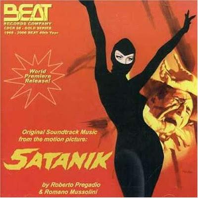 Vinilos cómic Satanix