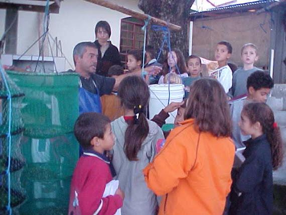2003 - SAÍDA DE ESTUDOS NO BAIRRO DO RIBEIRÃO DA ILHA