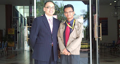 with Deputy Dean of School of Business & Economy, UMS KK, Dr. Hassanal Bagul...