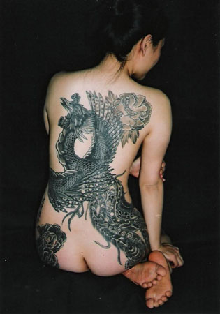 Tattoos Design. Butterfly design japanese tattoo atwork.