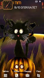 Cat Halloween HD by gnokkia
