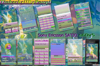 Satio themes Tinkerbell by Poupi