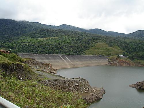 lago con vegetacion (pradera)
