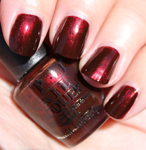 red nail polish colors. This red is the perfect medium