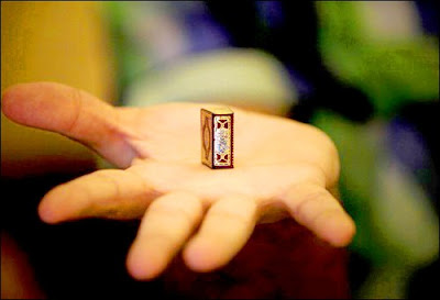 SmallestHandwrittenHolyQuranintheWorld7 - World's Smallest  Holy Quran