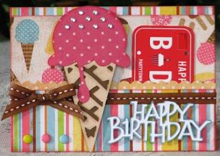 The Avid Scrapper: {HAPPY BIRTHDAY Gift Card Holder Car