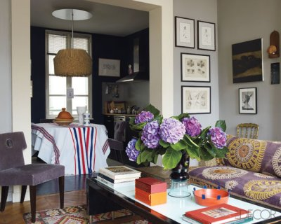 French Country Blog: Parisian Left Bank Apartment – April 2010