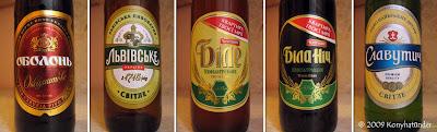 Ukrán sörök