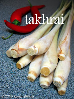 Thai lemongrass takhrai