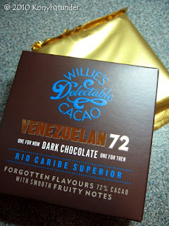 Willie's Venezuelan 72 Dark Chocolate