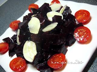 honey-garlic-beetroot-salad