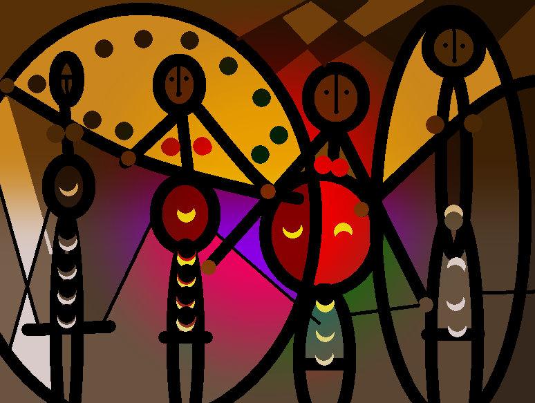 arte siglo XXI: Murales africanos