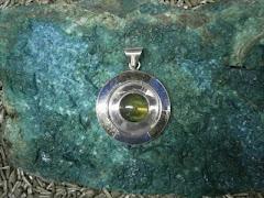 colgante plata
