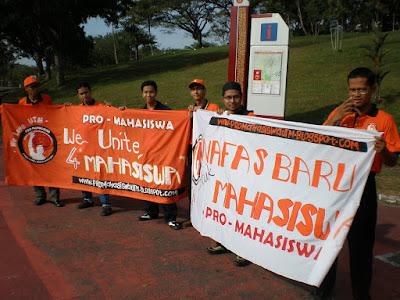 Gelombang Oren menghangatkan PRK UTM 2009