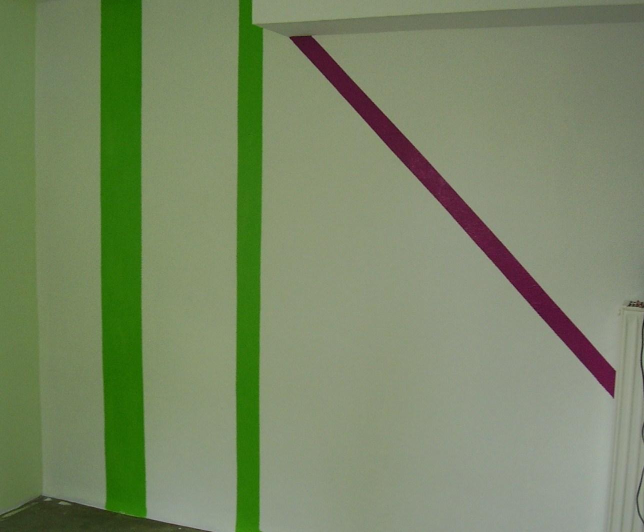 Streifen Wand