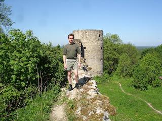 Стена. Копорская крепость