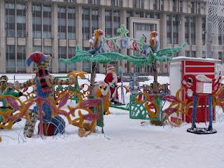Парк Сказкана Новый год в Туле