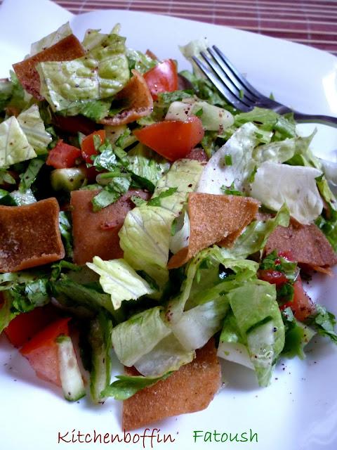 Fattoush / Arabic Bread Salad