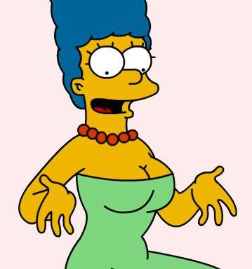 Marge simpson hot pics marge simpson cleavage photos - Marge simpson et bart ...
