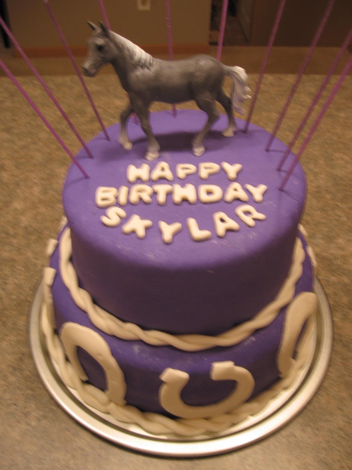 My Food Swatch Happy 10th Birthday Skylar