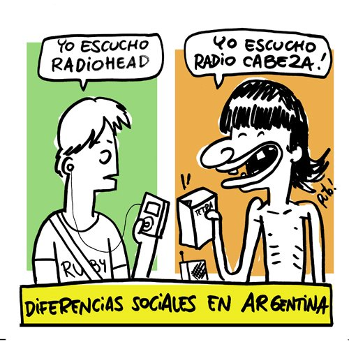 Radiohead vs Damas Gratis
