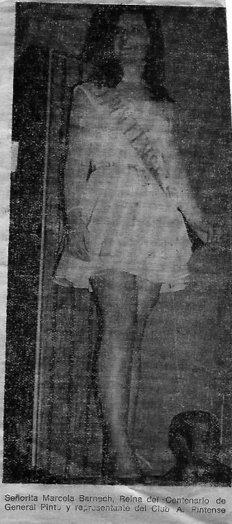 MARCELA BARNECH - REINA CAP 1969