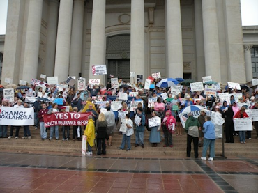 Change Oklahoma March for Health Care Reform