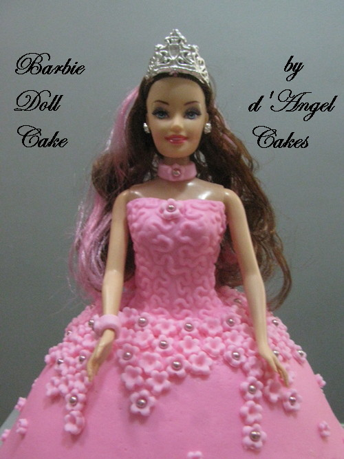 barbie doll cake. Barbie Doll Cake For Lim Ying