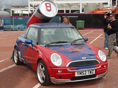 Redbull Air Race Mini Cooper