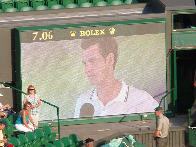 Wimbledon+2009+10+Andy+Murray+Ernests+Gulbis