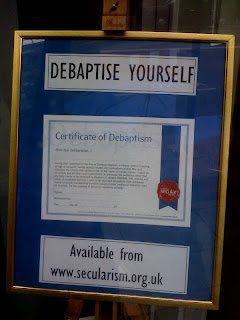 Debaptise+Yourself