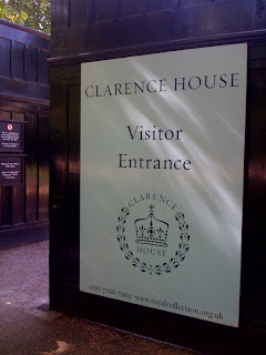Clarence+House+London+Royal+residence+entrance