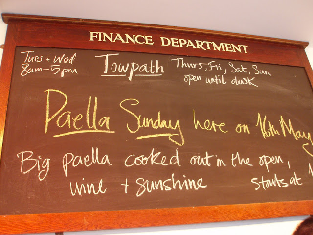 Towpath+Cafe+menu+Hackney+Regents+Canal+Paella+Sunday