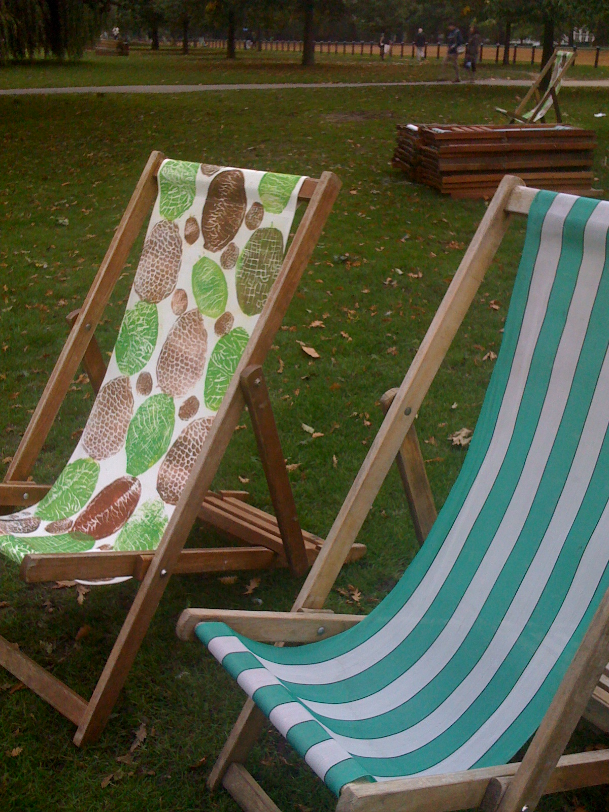 London+Hyde+Park+deckchair