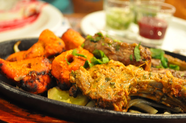Delhi+Grill+review+Islington+Chapel+Market+Indian+restaurant+chicken+tikka+sheekb+kebab+lamb+chop
