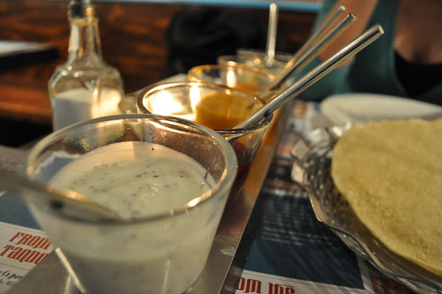 Delhi+Grill+review+Islington+Chapel+Market+Indian+restaurant+papadom