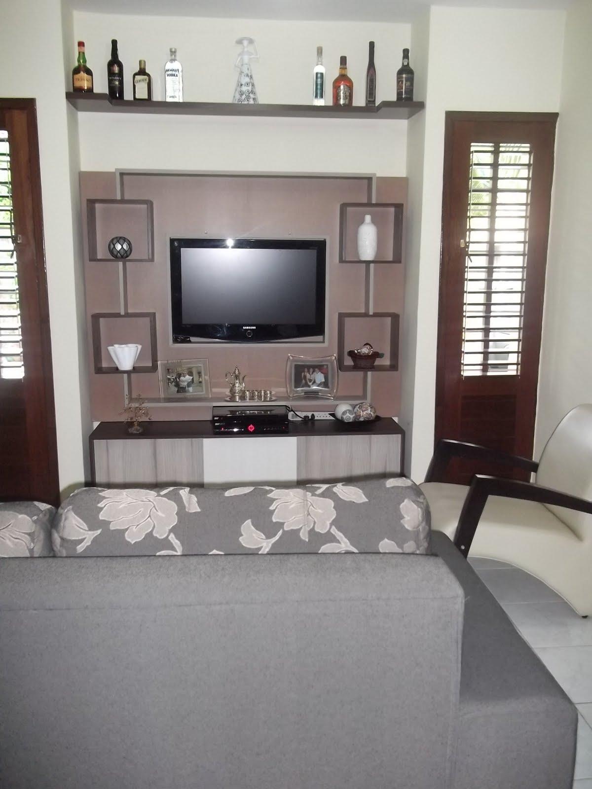 Sala Com Tv Na Janela ~ Antes e Depois  Projeto de Sala de TV