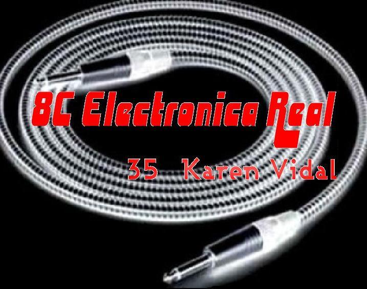 8C ELECTRONICA REAL 35 KAREN VIDAL