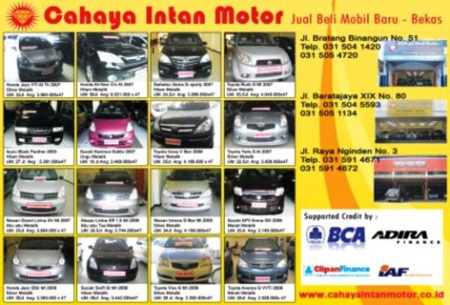 Mobil Bekas Surabaya: iaf finance-adira finance-bca ...