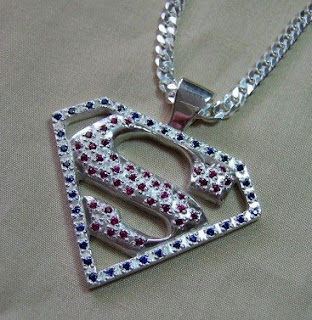 Ruby and sapphire custom pendant by Payne's Custom Jewelry