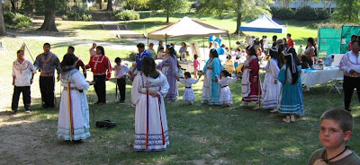 Choctaw Tribal Dances at the Mississippi Archaeology Expo in Jackson